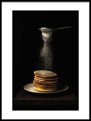 Art print titled Pancakes by the artist Suzuhiko Suzuki