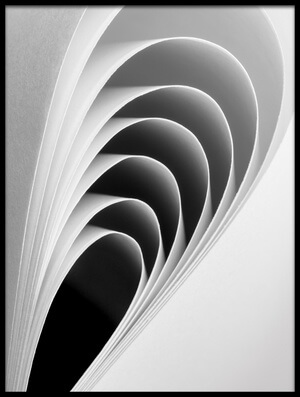 Art print titled Paper Crescents by the artist Jacqueline Hammer
