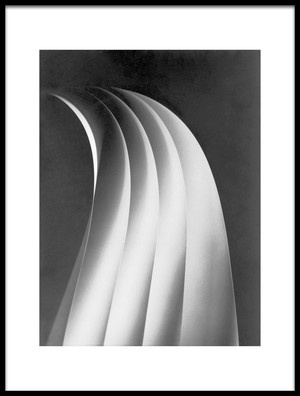 Buy this art print titled Paper Curves by the artist mirzacengic