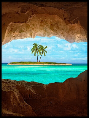 Art print titled Paradise by the artist Matt Anderson