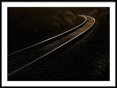 Buy this art print titled Parallel Lines by the artist Allan Wallberg
