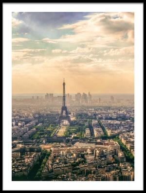 Art print titled Paris, France by the artist mohamed kazzaz