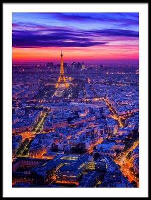 Buy this art print titled Paris I by the artist Juan Pablo de Miguel