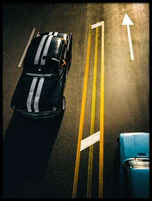 Buy this art print titled Passing Cars by the artist Yancho Sabev