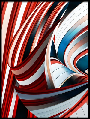 Art print titled Passione Annodata by the artist Gilbert Claes