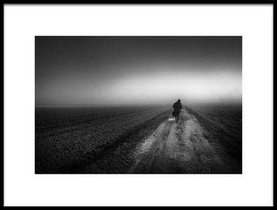 Art print titled Path Into the Unknown by the artist Erminio Vanzan
