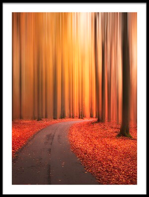 Art print titled Path to Unknown by the artist Christian Lindsten