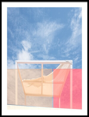 Buy this art print titled Patio by the artist Harry Verschelden