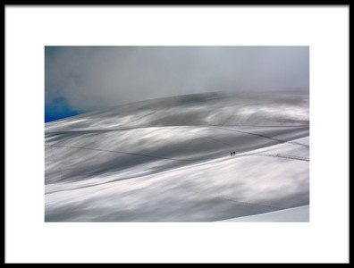 Buy this art print titled Perennial Glacier by the artist Edoardo Gobattoni