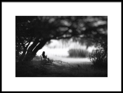 Art print titled Perfect Day for Reading by the artist Teruhiko Tsuchida