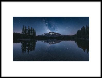 Buy this art print titled Perfect Reflection by the artist Javier de la Torre