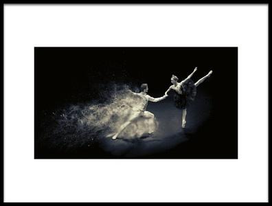 Art print titled Performance Dance by the artist Zoltan Tot