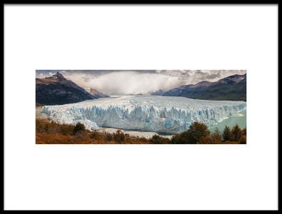 Art print titled Perito Moreno by the artist Roberto Oggiano