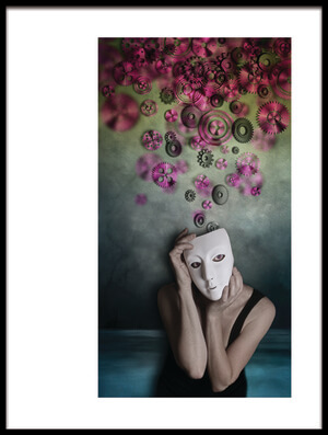 Buy this art print titled Personality (part 2) by the artist Lucynda Lu