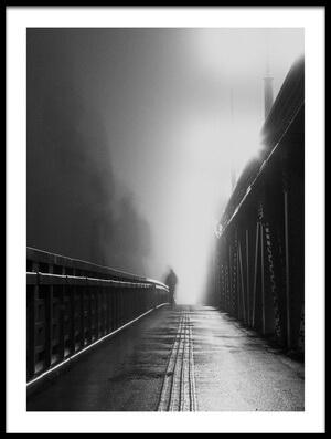 Art print titled Phantom On the Fog by the artist OSAMU ASAMI