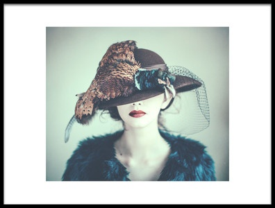 Art print titled Pheasant by the artist Magdalena Russocka