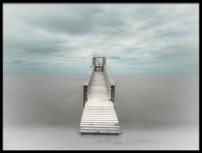 Buy this art print titled Pier by the artist Martin Steeb