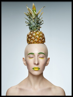 Buy this art print titled Pineapple by the artist Sergei Smirnov