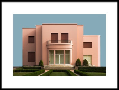 Buy this art print titled Pink House by the artist Inge Schuster