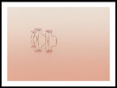 Buy this art print titled Pink Silence by the artist Natalia Rublina