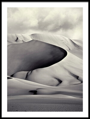 Buy this art print titled Pinza De Arakao, Desierto Del Teneré by the artist Manuel Vilches