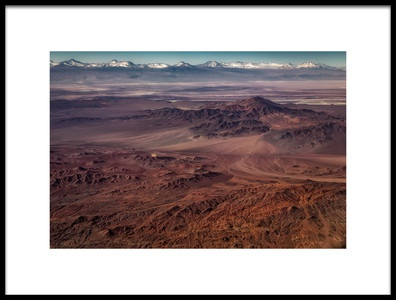 Art print titled Planet Atacama by the artist Adhemar Duro