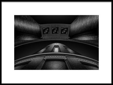 Art print titled Planetarium Hamburg by the artist Matthias Hefner