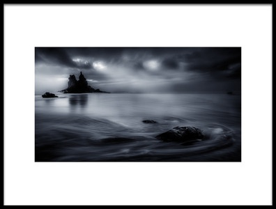 Art print titled Playa De Benijo  Tenerife by the artist Eliecer  Labory