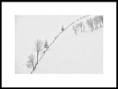 Buy this art print titled Poetry In Black and White by the artist Lucian Constantin