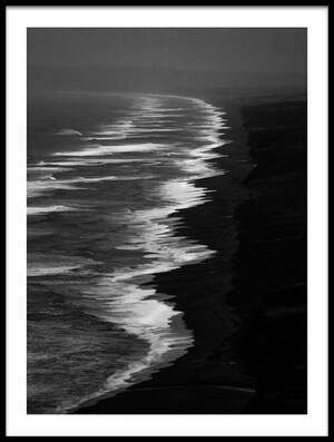 Buy this art print titled Point Reyes Storm by the artist Rob Darby