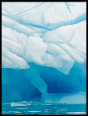 Buy this art print titled Polar Ice by the artist Joan Gil Raga