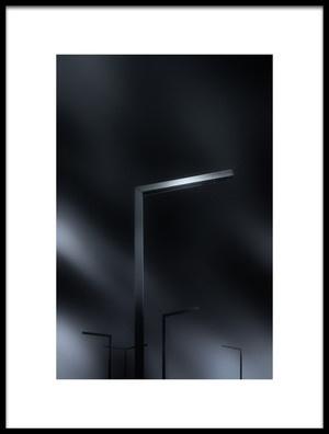 Art print titled Poles by the artist Despird Zhang