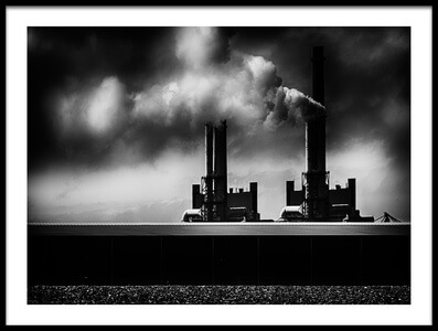 Buy this art print titled Pollution by the artist Greetje van Son