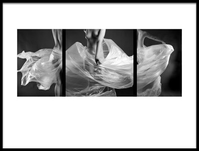 Buy this art print titled Polyethylene Dance by the artist MagnusPhotos