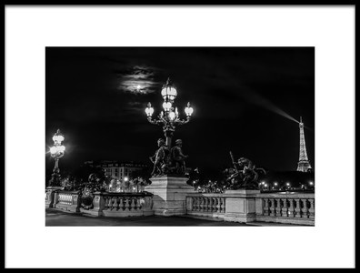 Art print titled Pont Alexandre III by the artist Chris Walters