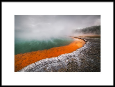 Art print titled Pool of Hell by the artist Tim Fan