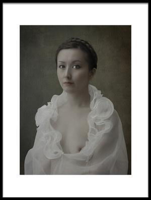 Art print titled Portrait De La Femme by the artist Fuyuki Hattori