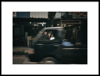 Buy this art print titled Portrait of a Couple On the Street by the artist Yoga Praditya