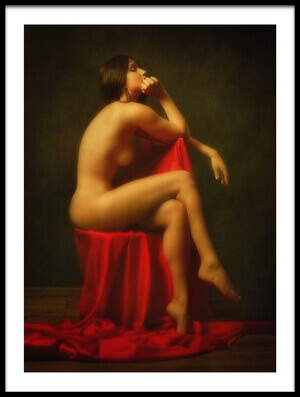 Buy this art print titled Posture by the artist Zachar Rise