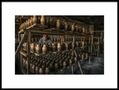 Buy this art print titled Potter by the artist Altan GÖKÇEK