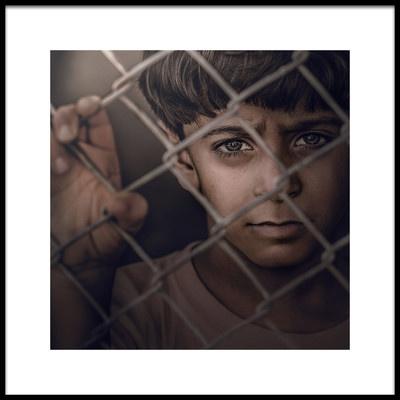 Buy this art print titled Prisoner by the artist Mahdi Albrahem