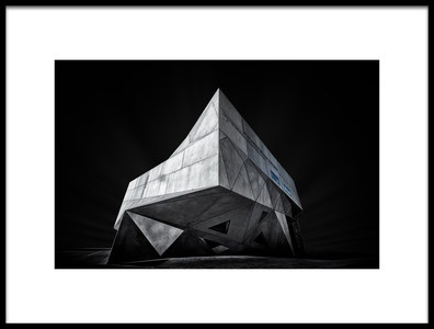 Art print titled Proud Concrete by the artist Yuval Shiboli