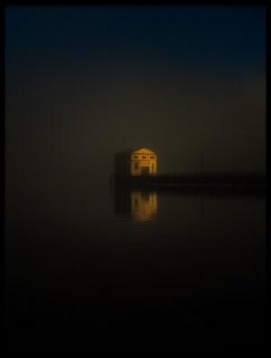 Buy this art print titled Pumphouse Point by the artist atelier8