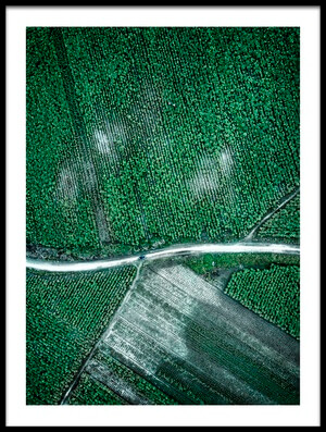 Buy this art print titled Pure Green by the artist Zhou Chengzhou