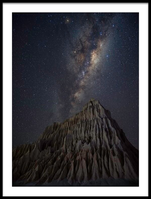Art print titled Pyramid In Mungo by the artist Jingshu Zhu