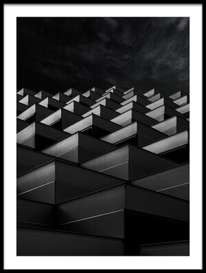 Buy this art print titled Pyramid Wall by the artist Gilbert Claes