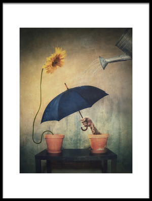 Art print titled Quot About Gardening Quot by the artist Vaclav Kindl