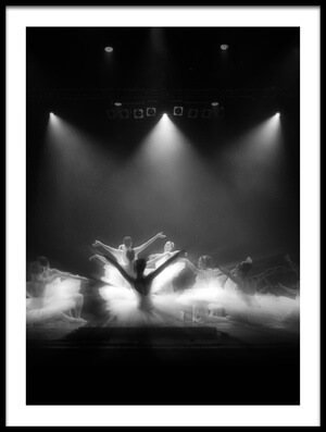Buy this art print titled Glory Dance Light by the artist Osher Partovi