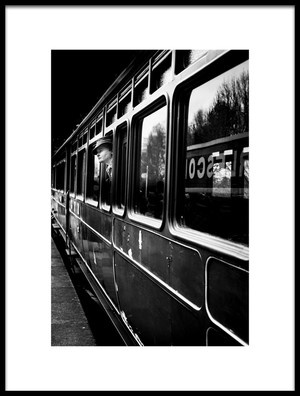 Art print titled QuotThe Goodbye Girl Leavingquot by the artist Richard Bland