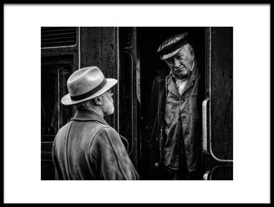 Art print titled Railroad Bill by the artist Richard Bland